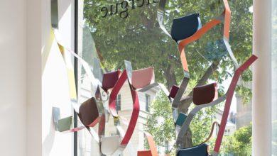 vitrine boutique Olivia Clergue