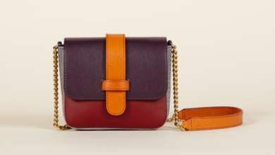sac multicolore Olivia Clergue